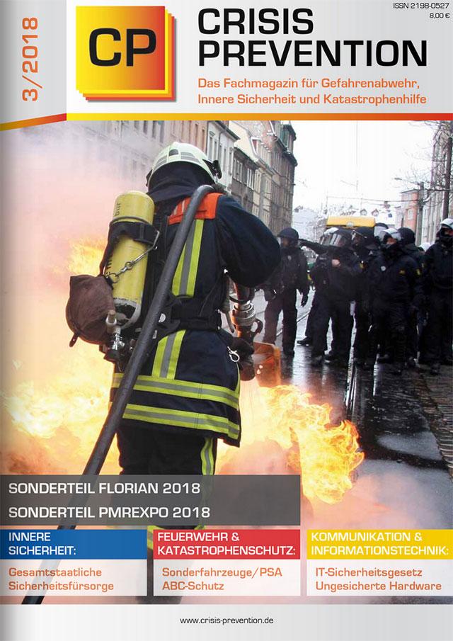 Crisis Prevention - Das Fachmagazin für Gefahrenabwehr, Innere Sicherheit und Katastrophenhilfen