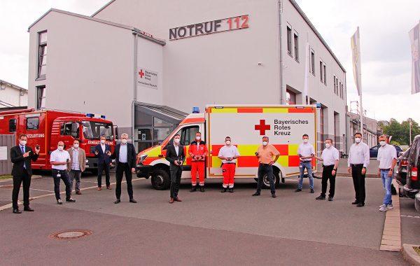 ILS Bayreuth/Kulmbach startet digitale Alarmierung des Rettungsdienstes