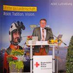 40 Jahre ADAC Luftrettung & 40 Jahre BRK Leitstelle in Bayreuth - Staatssekretär Gerhard Eck aus dem bayerischen Innenministerium