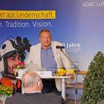40 Jahre ADAC Luftrettung & 40 Jahre BRK Leitstelle in Bayreuth – Dr. Stefan Eigl trug über die medizinischen Entwicklungen in der Luftrettung vor – ärztlicher Leiter Rettungsdienst Bayreuth/Kulmbach