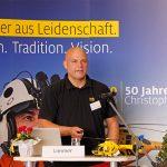 40 Jahre ADAC Luftrettung & 40 Jahre BRK Leitstelle in Bayreuth – Matthias Limmer Stationsleitung ADAC Luftrettung Bayreuth erläuterte den derzeitigen Sachstand der Rettungsfliegerei